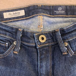 "Ag Adriano Goldschmied Jeans - AG ""The Aubrey""  skinny straight jeans 24R 24x33"